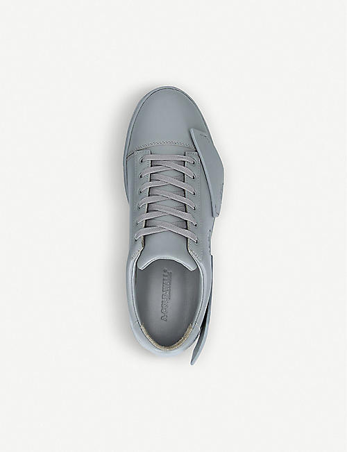 COLD WALL Onyx Shard leather low-top trainers