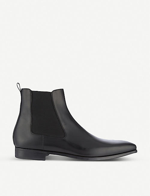 MAGNANNI: Leather Chelsea boots