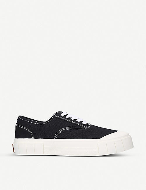 GOOD NEWS: Ace canvas trainers