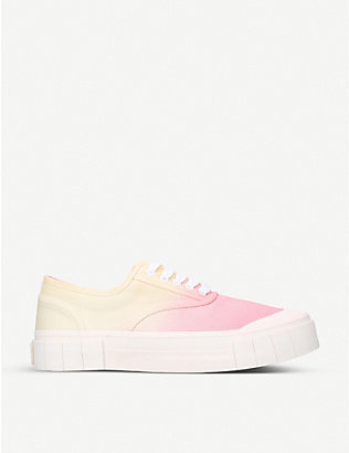 GOOD NEWS: Ace tie-dye organic cotton trainers