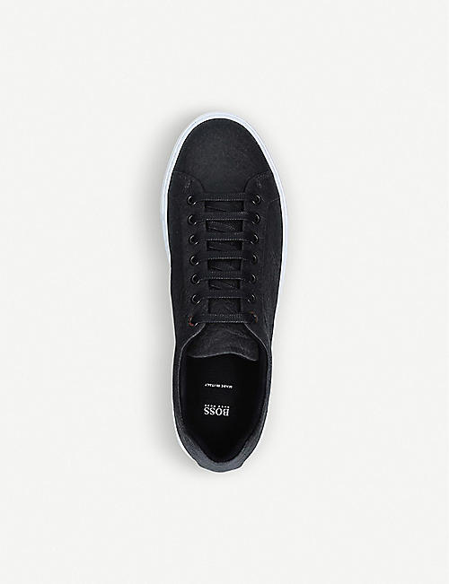 BOSS Hologram low-top Piñatex® trainers
