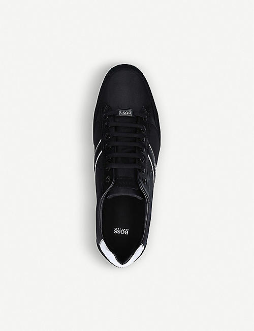 BOSS Saturn Pro low-top leather trainers