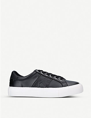 KG KURT GEIGER: Kace lace-up trainers