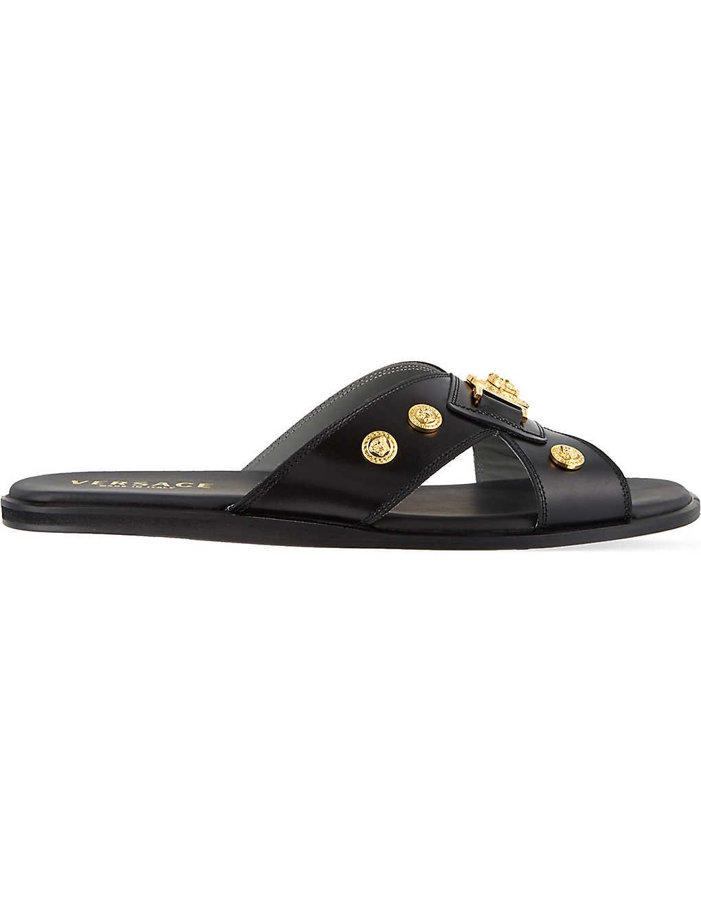 5403ba71b7 VERSACE - Multi medusa sandals | Selfridges.com