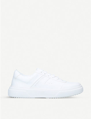 KG KURT GEIGER: Kai leather trainers