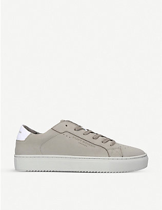 KURT GEIGER LONDON: Sonny leather low-top trainers