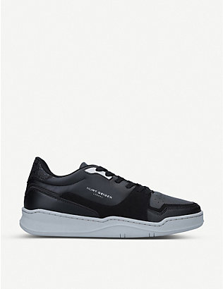 KURT GEIGER LONDON: Frankie low-top trainers
