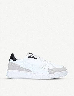 KURT GEIGER LONDON Frankie faux-leather trainers