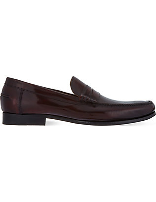 BARKER: Newington penny loafers