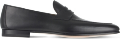 MAGNANNI Roberto leather loafers