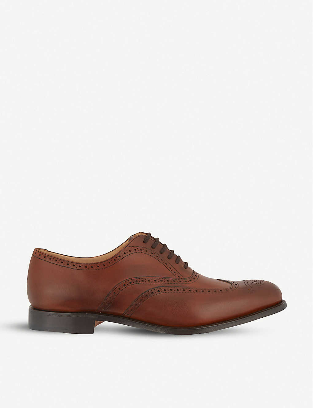 CHURCH: Berlin punched wingcap Oxford shoes