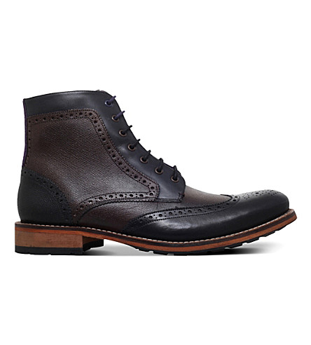 a45ed826de2 TED BAKER Sealls 3 leather boots (Mult other