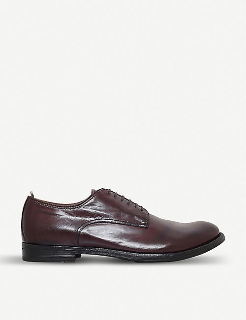 OFFICINE CREATIVE: Anatomia derby leather shoes