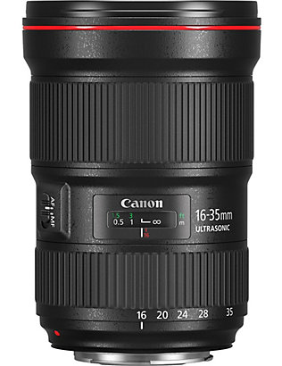 CANON: Ef 16-35mm f2.8 wide-angle zoom lens