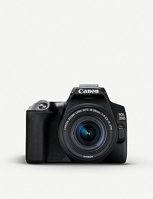 CANON: EOS 250D DSLR and 18-55mm lens kit