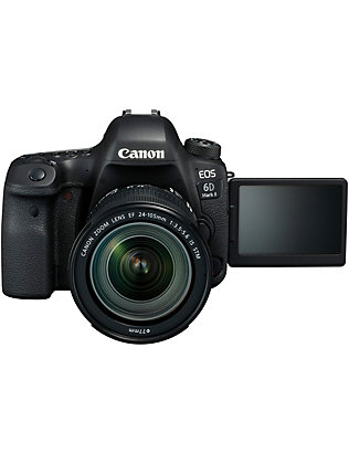 CANON:EOS 6D Mk. II DSLR with 24-105mm 镜片相机套装
