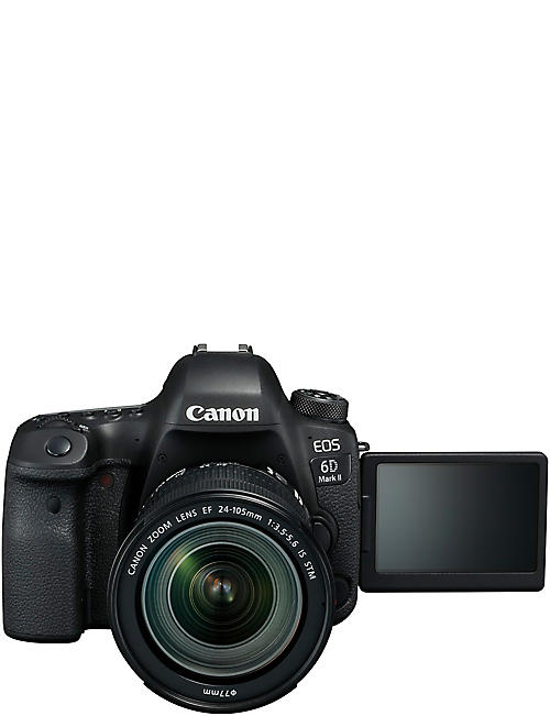CANON EOS 6D Mk. II DSLR with 24-105mm Lens Camera Kit