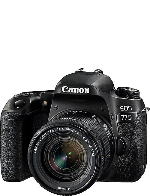 CANON EOS 77D DSLR Camera Kit