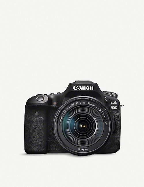CANON: EOS 90D Camera with 18-135mm Lens Kit