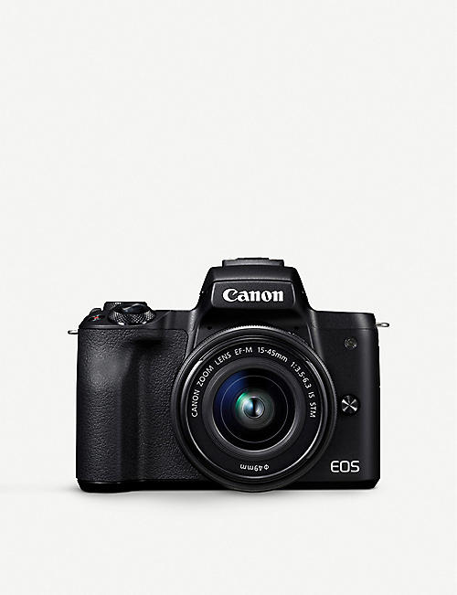 CANON: EOS M50 with EF-M 15-45mm Lens Kit