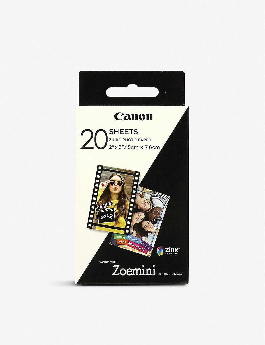 "CANON: Canon ZINK™ 2""x3"" Photo Paper x 20 sheets"