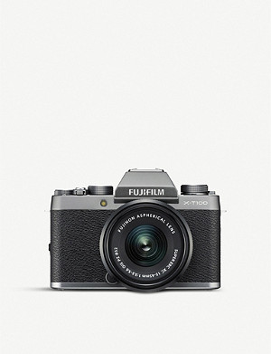FUJIFILM X-T100 with XC15-45mm lens