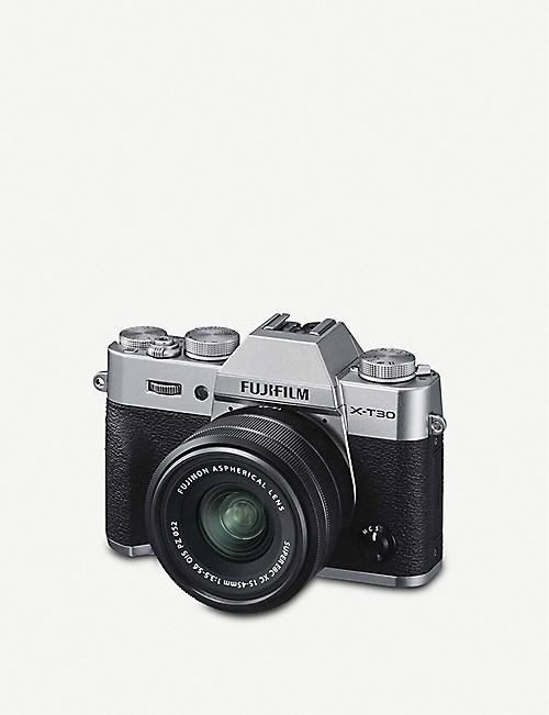 FUJIFILM X-T30 with XC 15-45mm lens