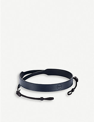 LEICA: C LUX leather camera carry strap