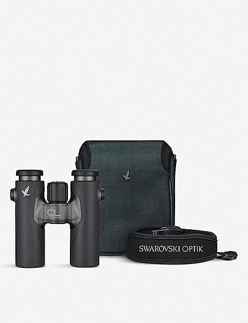 SWAROVSKI Swarovski CL Companion 10x30 Anthracite Binoculars with Wild Nature Accessory Pack