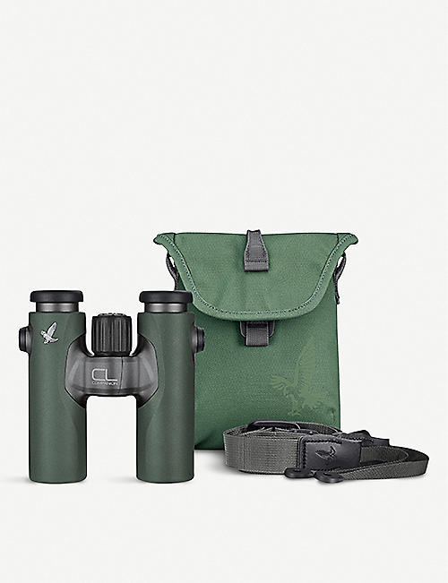 SWAROVSKI Swarovski CL Companion 8x30 Green Binoculars with Urban Jungle Accessory Pack