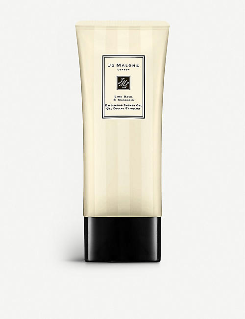 JO MALONE LONDON Lime Basil & Mandarin exfoliating shower gel 200ml