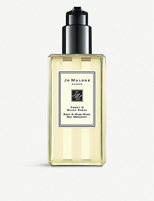 JO MALONE LONDON: Peony & Blush Suede Body & Hand Wash 250ml