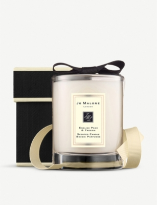 JO MALONE LONDON English Pear and Freesia travel candle 60g
