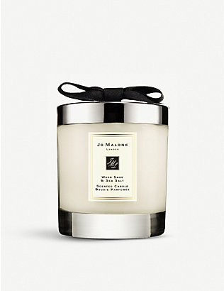 JO MALONE LONDON: Wood Sage & Sea Salt Home Candle 200g