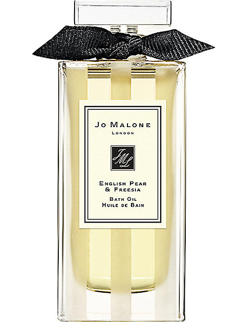 JO MALONE LONDON: English Pear & Freesia bath oil 30ml