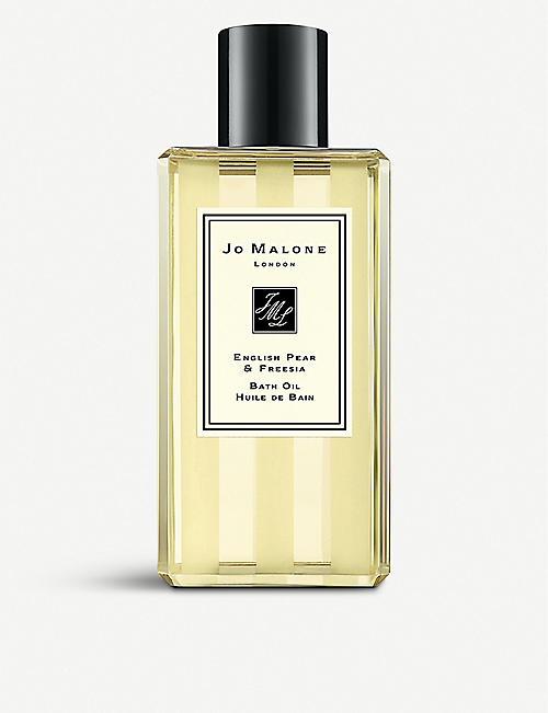 JO MALONE LONDON: English Pear & Freesia bath oil 250ml