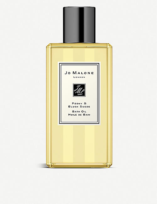 JO MALONE LONDON: Peony and Blush Suede bath oil 250ml