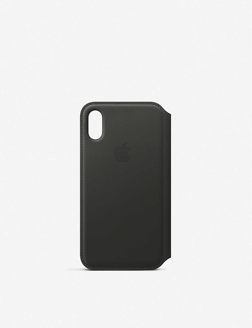 quality design f5b55 399af iPhone XS Leather Folio Case