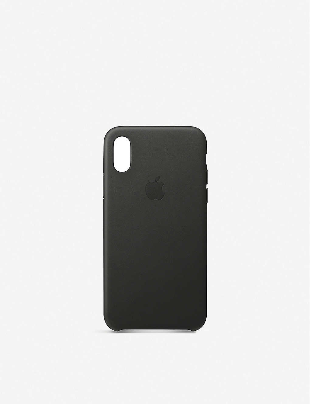 APPLE: iPhone XS Leather Case