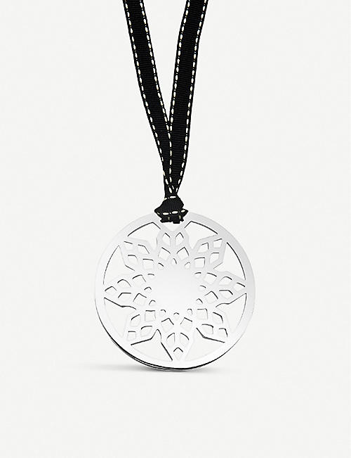 LINKS OF LONDON Snowflake silver-plated Christmas decoration