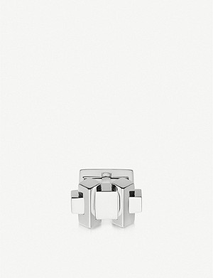 LINKS OF LONDON Brutalist sterling silver cufflinks