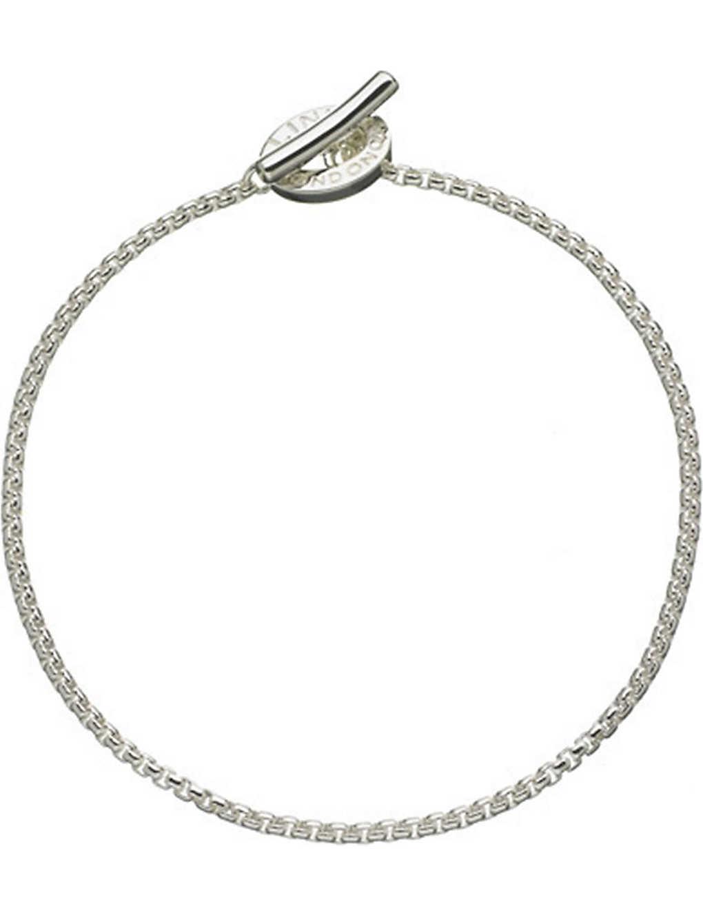 Links Of London Sterling Silver Box Belcher Bracelet Selfridges Com