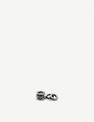 LINKS OF LONDON Rhodium Sweetie rings bag of 5