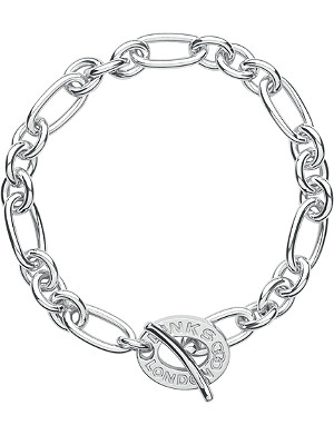 LINKS OF LONDON Signature sterling silver charm bracelet