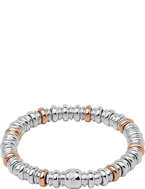 f2fa35516c80 LINKS OF LONDON Sweetheart silver and 18ct rose-gold vermeil bracelet