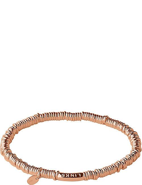 399c26f53 LINKS OF LONDON Sweetie XS 18ct rose-gold vermeil bracelet