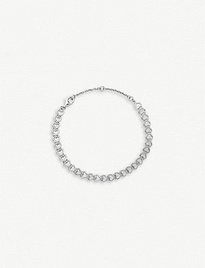 LINKS OF LONDON Mini hearts sterling silver bracelet