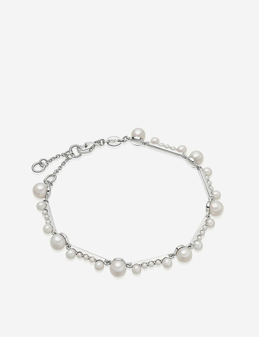 c99feee34f9ce8 LINKS OF LONDON - Orbs sterling silver and pearl bracelet ...