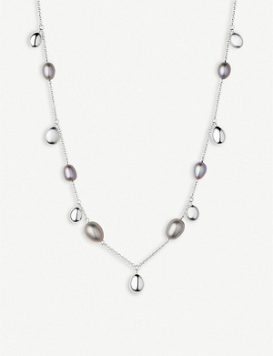LINKS OF LONDON Hope sterling silver and pearl necklace