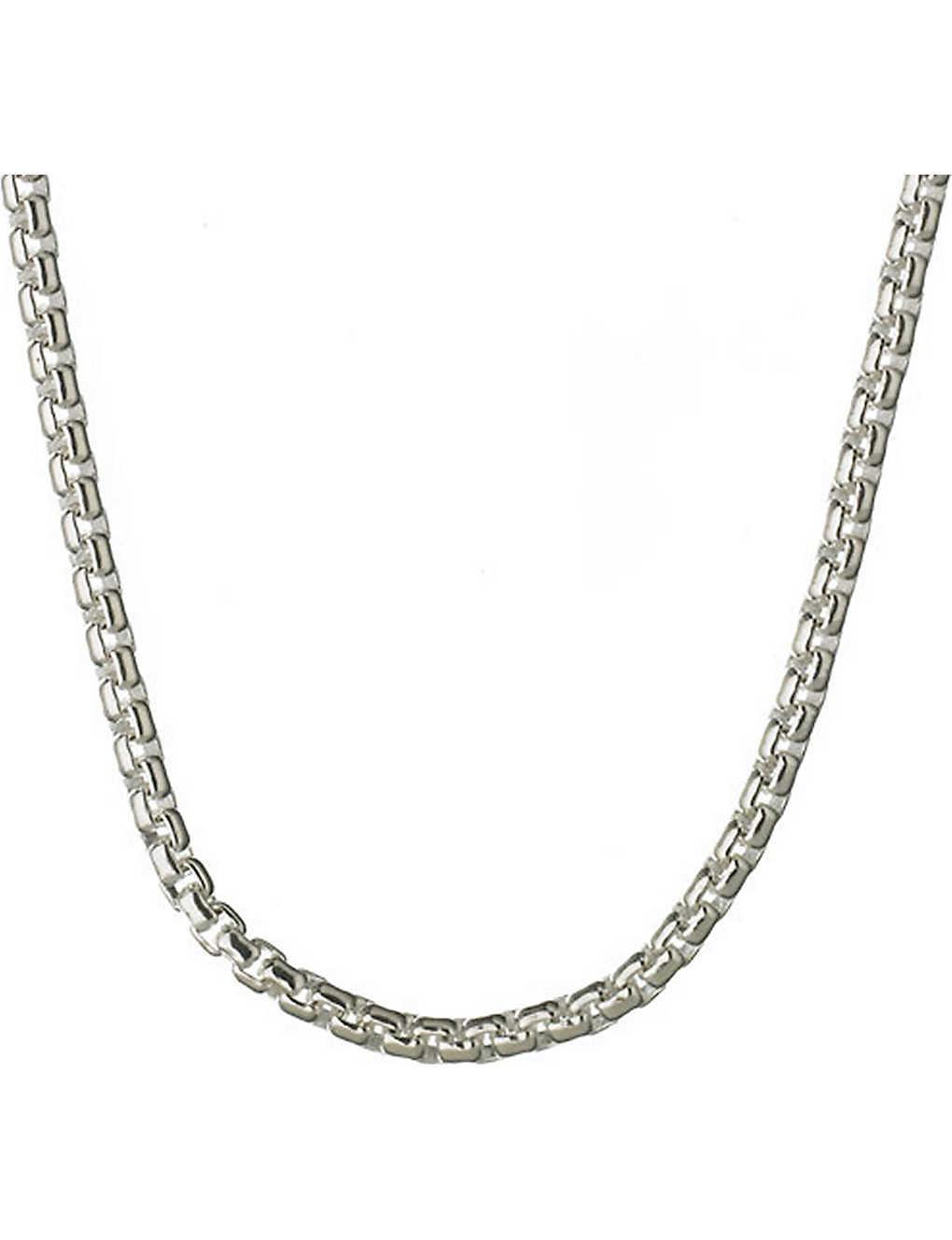 Links Of London Sterling Silver Box Belcher Chain Selfridges Com
